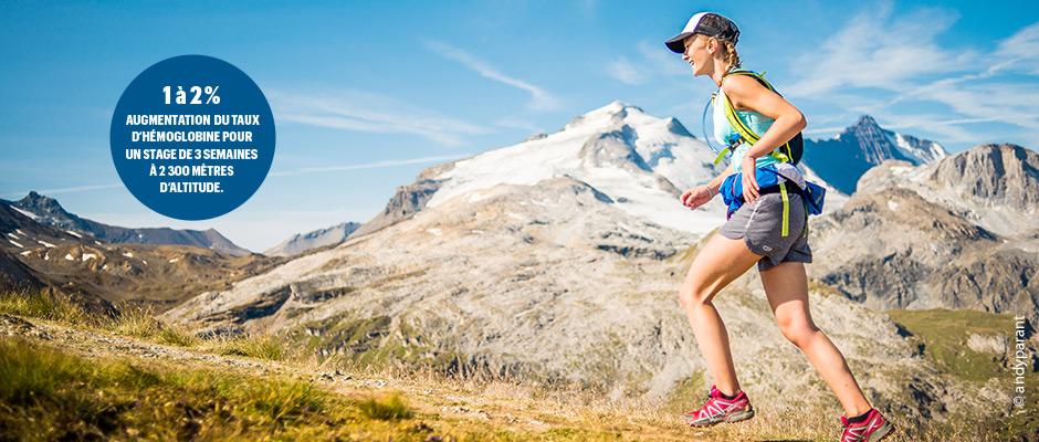 La montagne française, terrain d'entraînement des athlètes de haut niveau