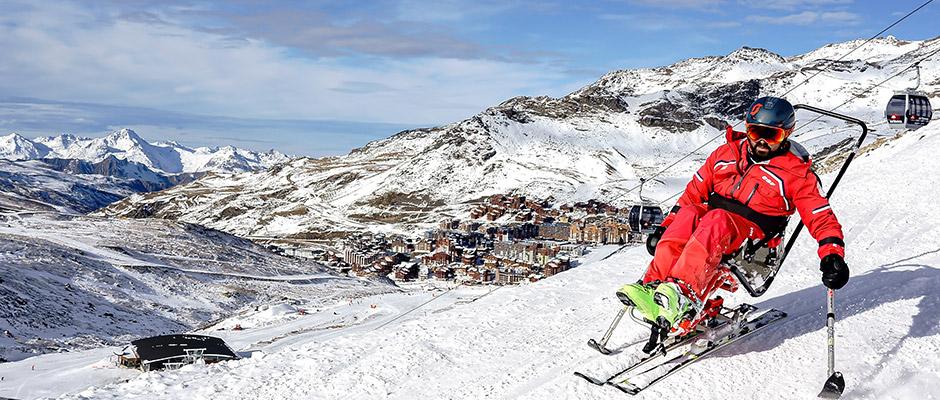 Handicap : rendre la montagne et le ski accessibles