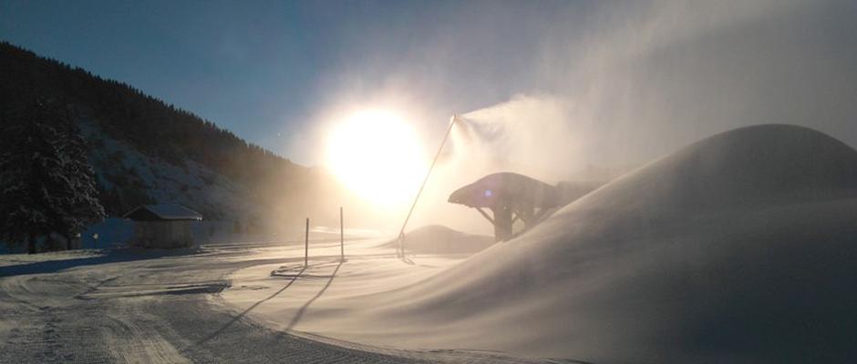 Savoie : 8,2 Mm³ prélevés pour la neige de culture en 2018-2019