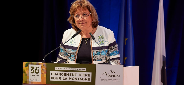 Jeanine Dubié : Présidente de l'ANEM