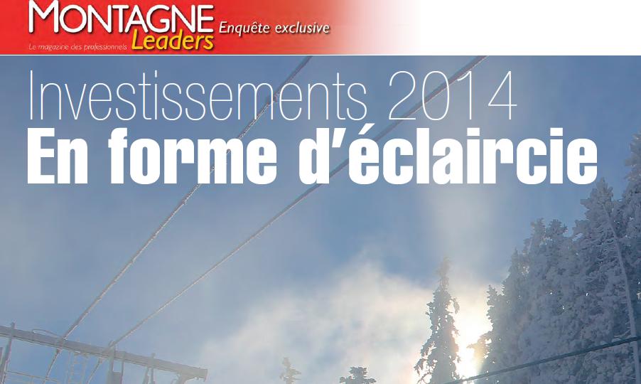 Enquête investissement - 2014