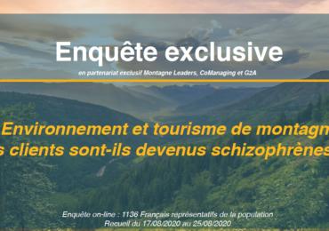 Environnement et tourisme de montagne : nos clients sont-ils devenus schizophrènes ?
