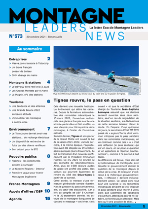 Montagne Leaders News